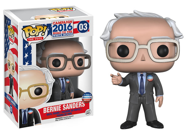 Pop! The Vote: Bernie Sanders