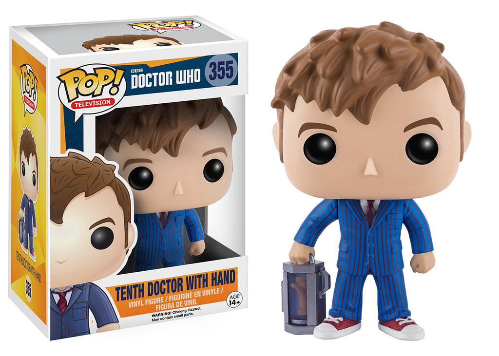 Pop Tv Doctor Who 10th Doctor With Hand Funko