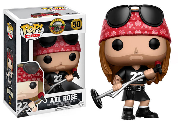 POP AXL ROSE GUNS AND ROSES FUNKO