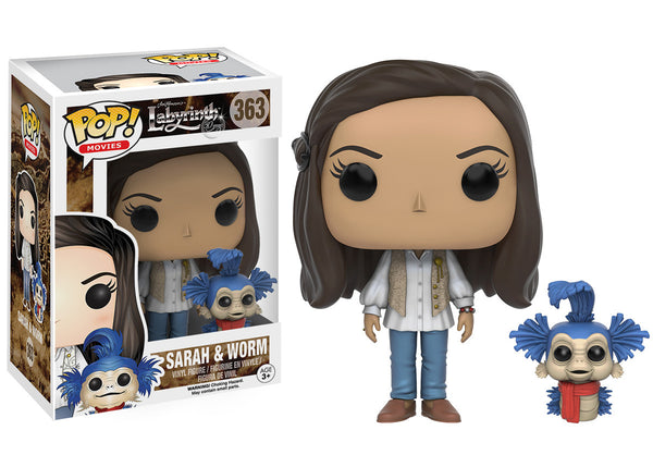 Pop! Movies: Labyrinth - Sarah & Worm