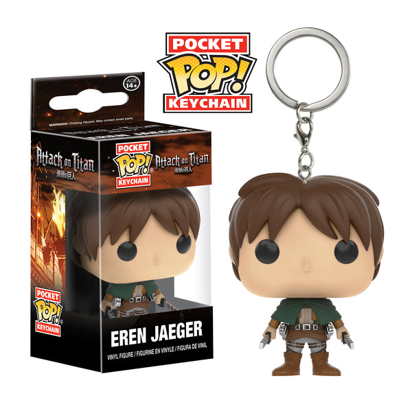 Pocket Pop! Keychain: Attack on Titan - Eren Jaeger