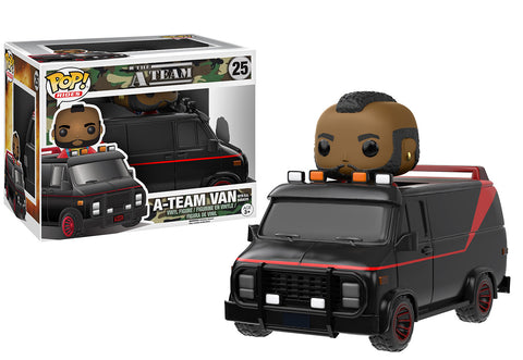 Pop! Rides: The A-Team - Van with B.A. Baracus