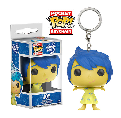 Pocket Pop! Keychain: Inside Out - Joy
