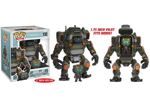 "Pop! Games: Titanfall 2 - Jack and 6"" BT"
