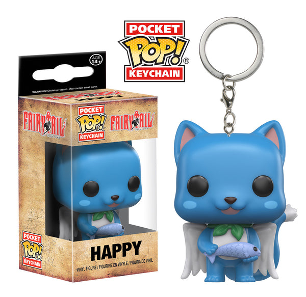 Pocket Pop! Keychain: Fairy Tail - Happy