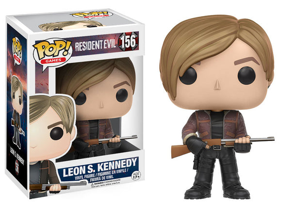 Pop! Games: Resident Evil - Leon S. Kennedy