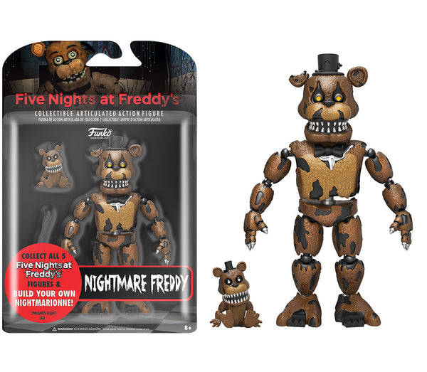 Action Figure: Five Nights At Freddy's - Nightmare Freddy