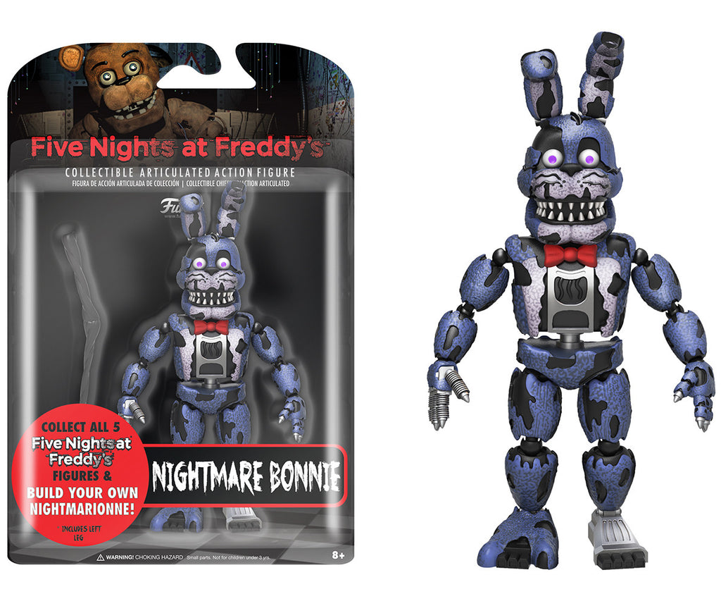 How to make your own five nights at freddys foxy plush - Action Figure Five Nights At Freddy S Nightmare Bonnie