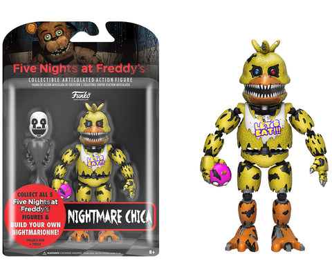 Action Figure: Five Nights at Freddy's - Nightmare Chica