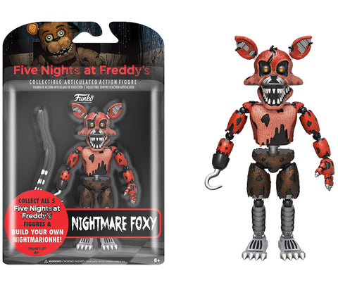 Action Figure: Five Nights at Freddy's - Nightmare Foxy
