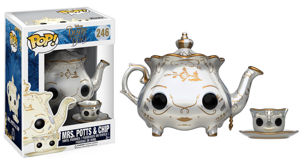 Pop Disney Beauty The Beast Mrs Potts Chip Beauty And The
