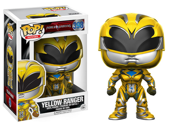 Pop! Movies: Power Rangers - Yellow Ranger