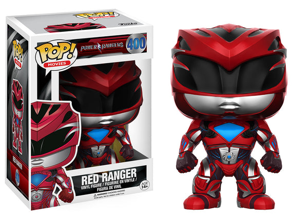Pop! Movies: Power Rangers - Red Ranger