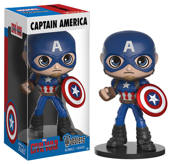 Wobblers: Captain America: Civil War - Captain America