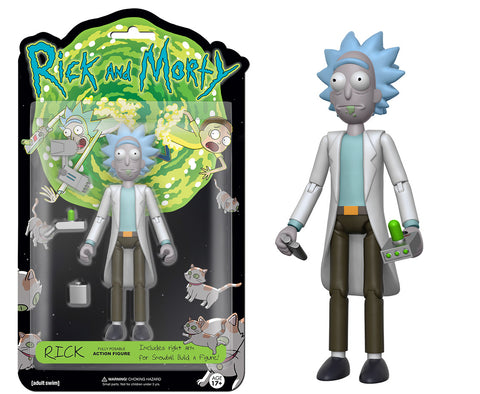 Action Figure: Rick & Morty - Rick