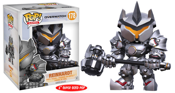 Pop! Games: Overwatch - Reinhardt 6""