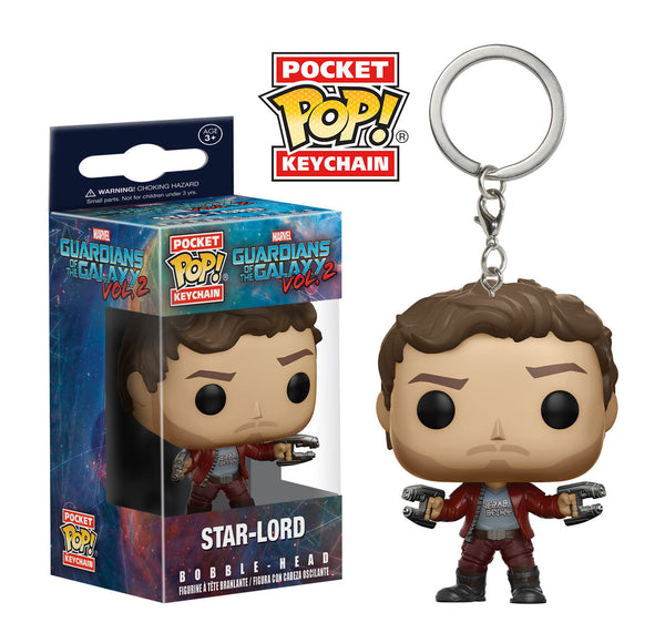 Pocket Pop! Keychain: Guardians of the Galaxy Vol. 2 - Star-Lord