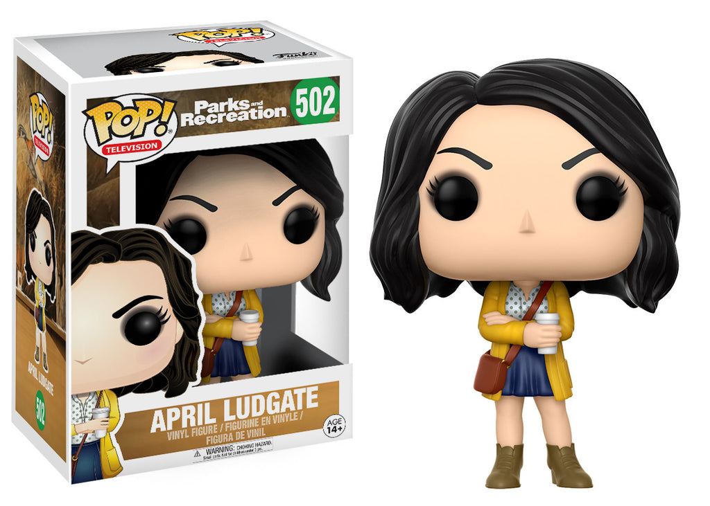 Pop Television Parks And Recreation April Ludgate Funko