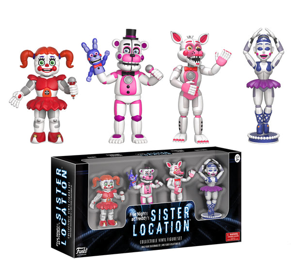"Five Nights at Freddy's: Four Pack 2"" Figures - Sister Location"