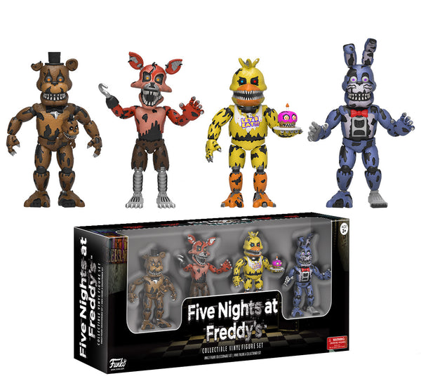 "Five Nights at Freddy's: Four Pack 2"" Figures - Nightmare Edition"