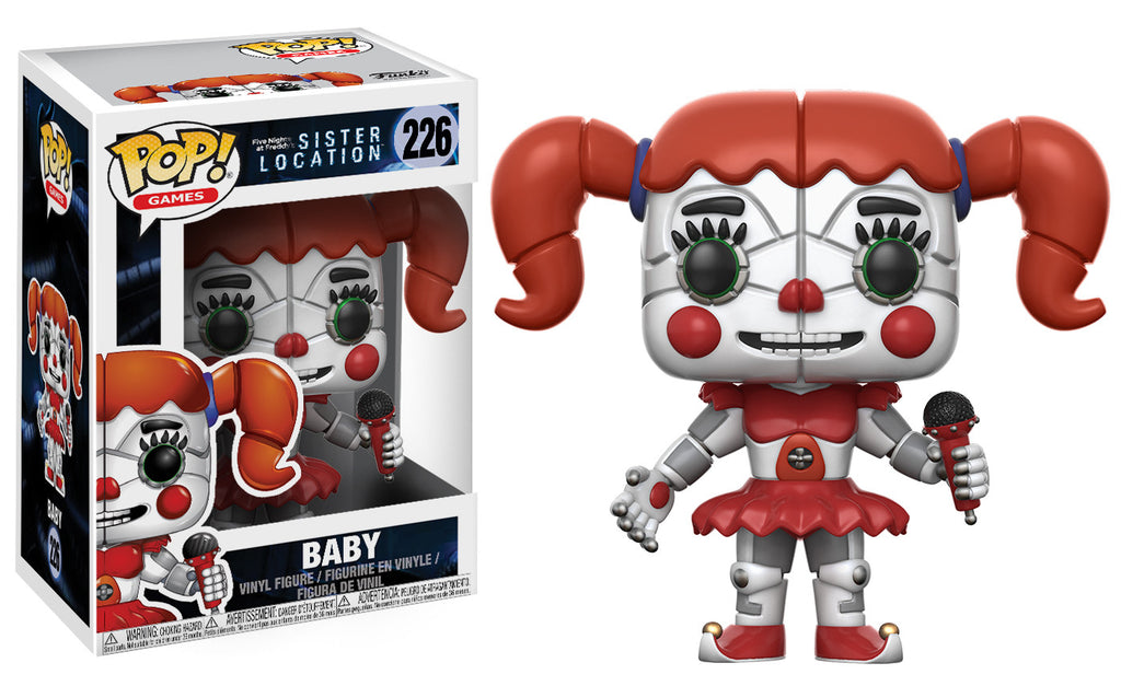 Pop Games Five Nights At Freddy S Sister Location Baby