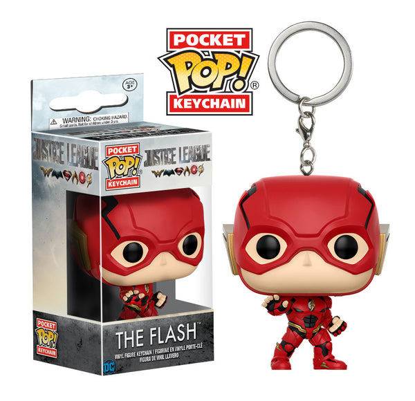 Pocket Pop! Keychain: DC - Justice League - The Flash