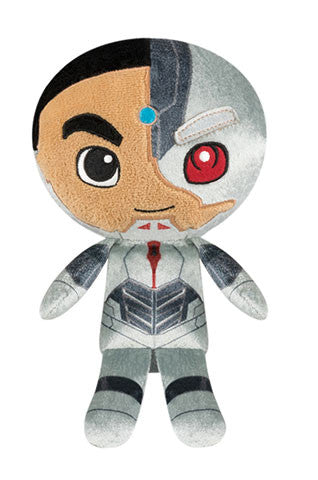 Hero Plushies: DC - Justice League - Cyborg