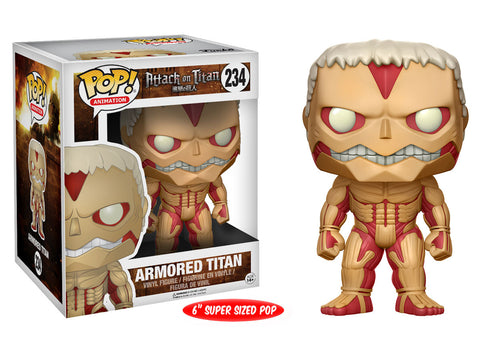 Pop! Animation: Attack on Titan - Armored Titan 6""