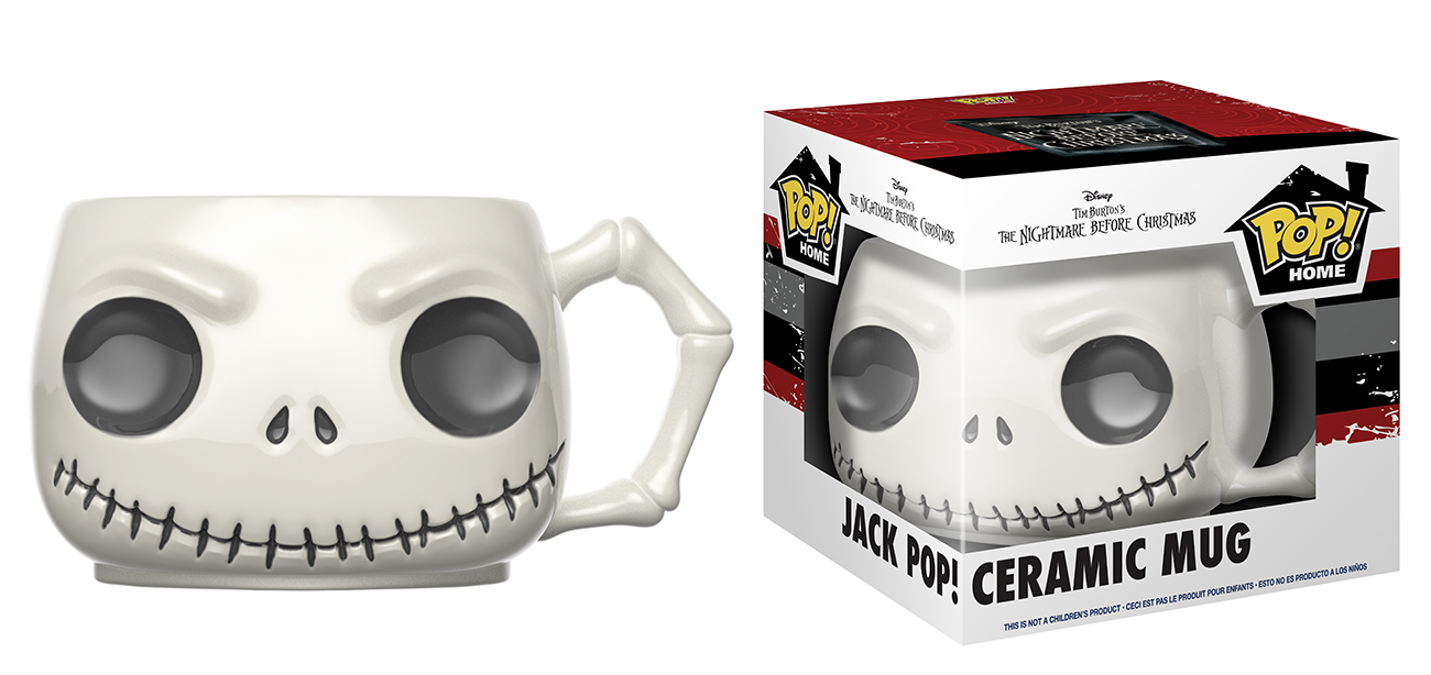 Pop! Home: Nightmare Before Christmas - Jack Pop! Ceramic Mug | Home ...