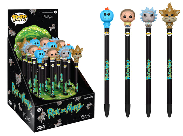 Pop! Television: Pen Toppers - Rick & Morty