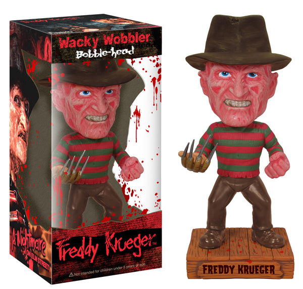 Wacky Wobbler: Horror Movie - Freddy Krueger