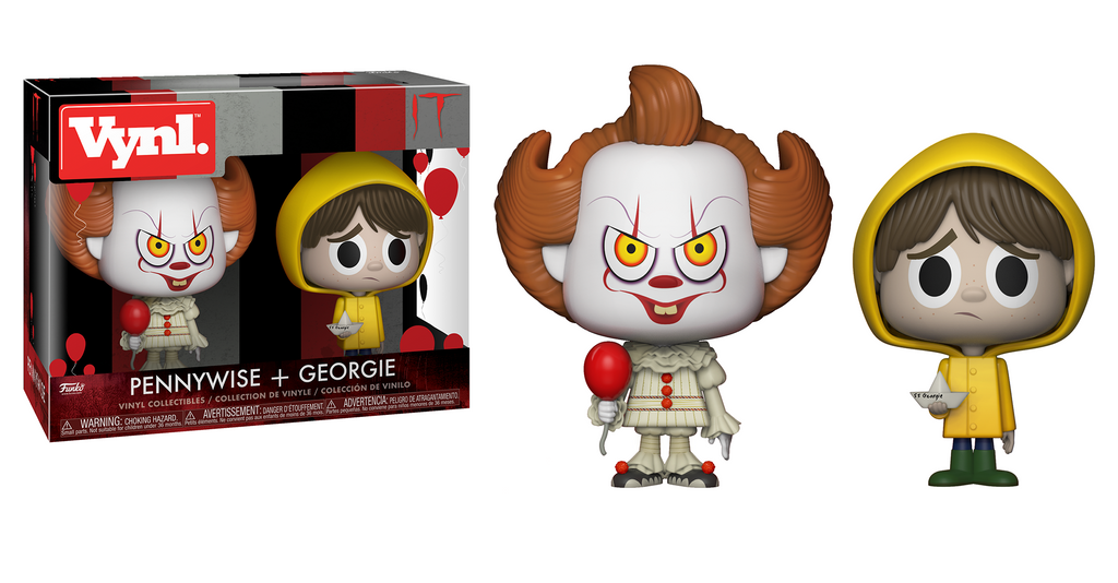 Vynl It Pennywise And Georgie Funko