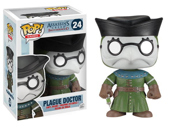 Funko Pop! Games: Assassin's Creed - Plague Doctor