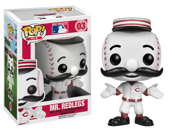 Pop! MLB - Mr. Redlegs