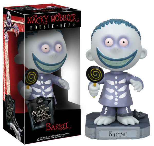 Wacky Wobbler: The Nightmare Before Christmas - Barrel