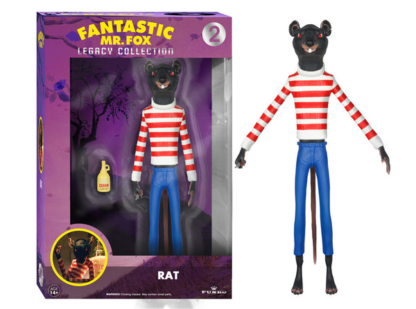 Funko The Legacy Collection: The Fantastic Mr. Fox - Rat