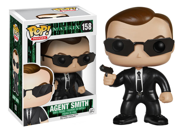 Funko Pop! Movies: The Matrix - Agent Smith