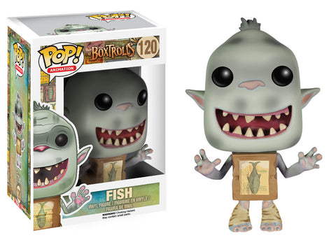 Funko POP! Movies: The Boxtrolls - Fish