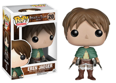 Funko Pop! Animation: Attack on Titan - Eren Jaeger