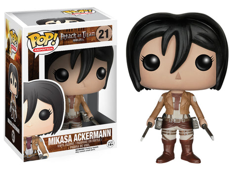 Funko Pop! Animation: Attack on Titan - Mikasa Ackerman