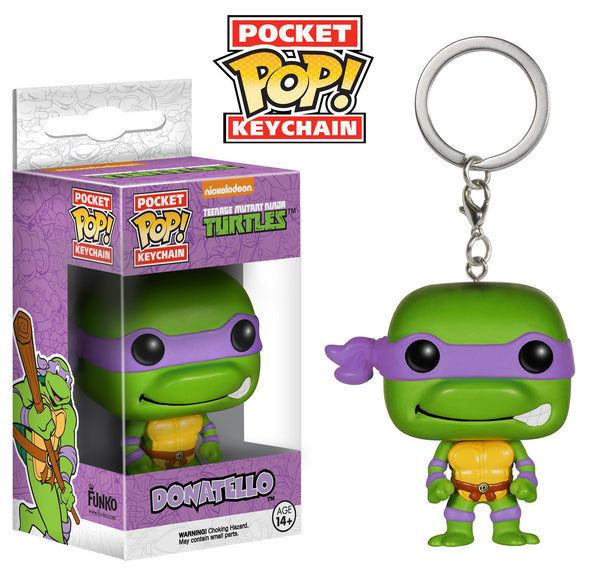 Pocket Pop! Keychain: TMNT - Donatello