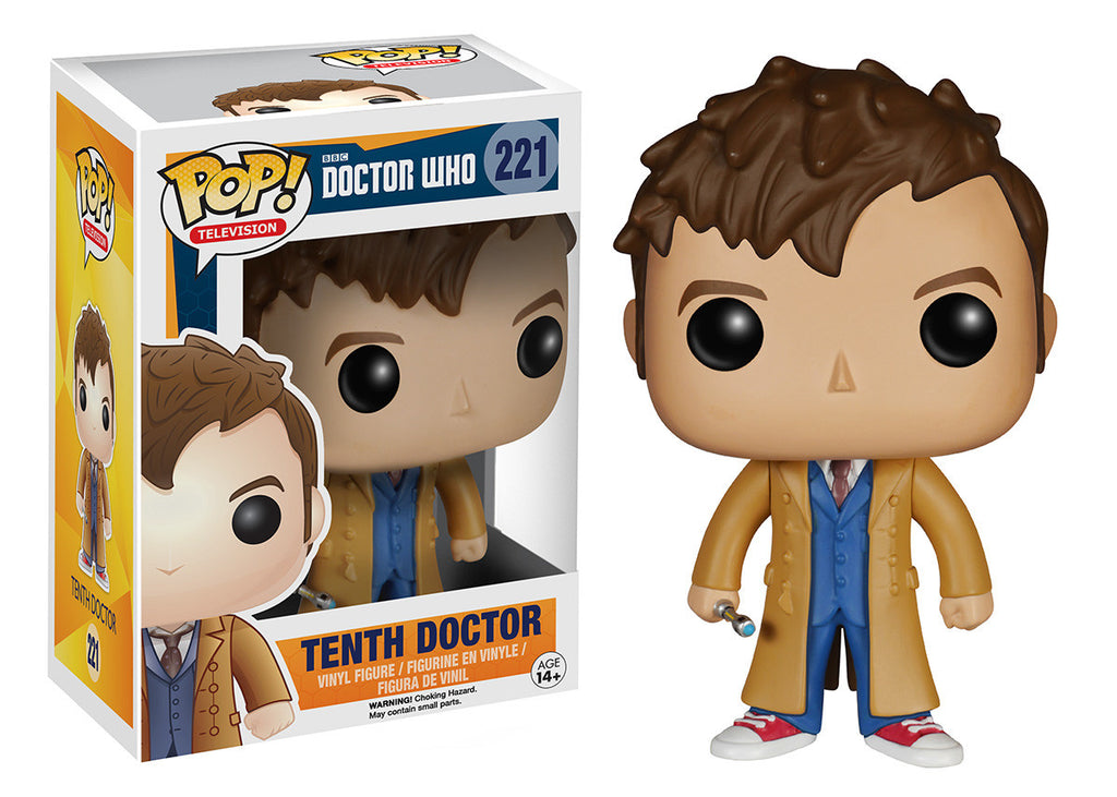 Pop Tv Doctor Who Tenth Doctor Funko
