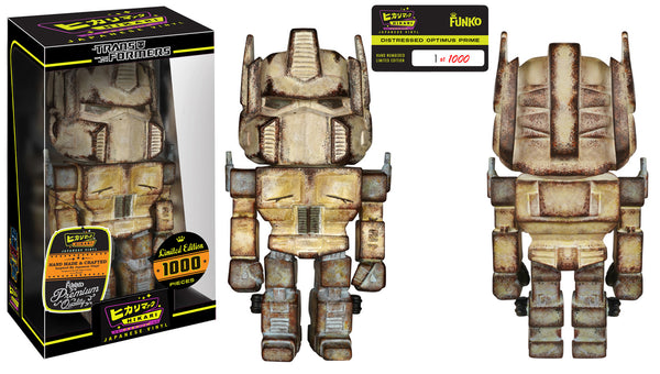 Funko Hikari Sofubi: Distressed Optimus Prime
