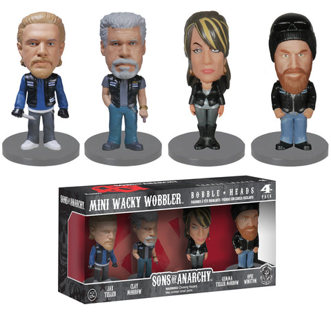 Funko Mini Wacky Wobbler Set: Sons of Anarchy