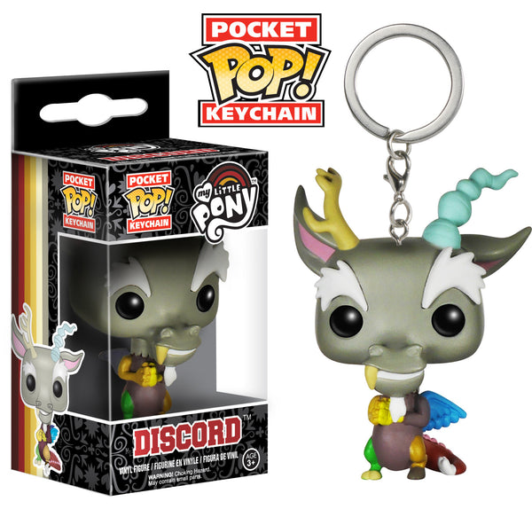 Funko Funko Pocket Pop! Keychain: My Little Pony - Discord