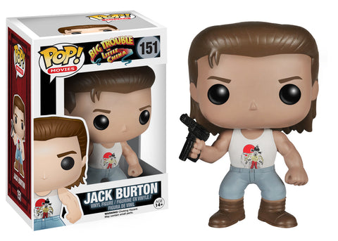 Funko Pop! Movies: Big Trouble in Little China - Jack Burton
