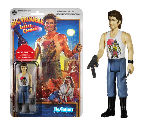 Funko ReAction: Big Trouble in Little China - Jack Burton