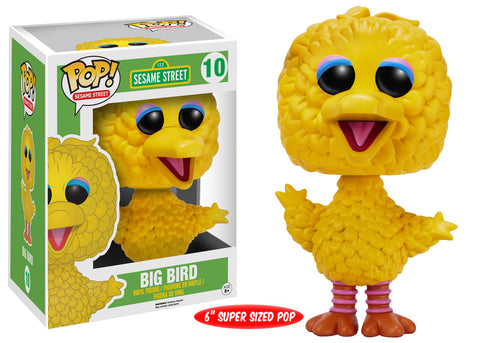 Pop! TV: Sesame Street: Big Bird 6""