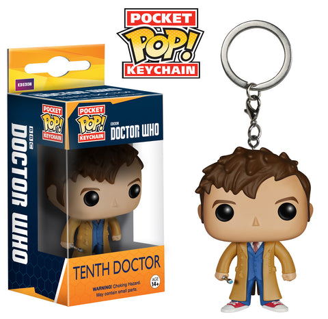 Pocket Pop! Keychain: Doctor Who - Tenth Doctor