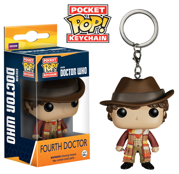 Pocket Pop! Keychain: Doctor Who - Fourth Doctor